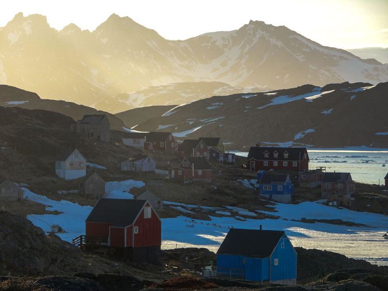 There is a mystical quality to the light near the Arctic Circle that makes views like this surreal, like you are standing in a waking dream.Photo: Rob Kingwill