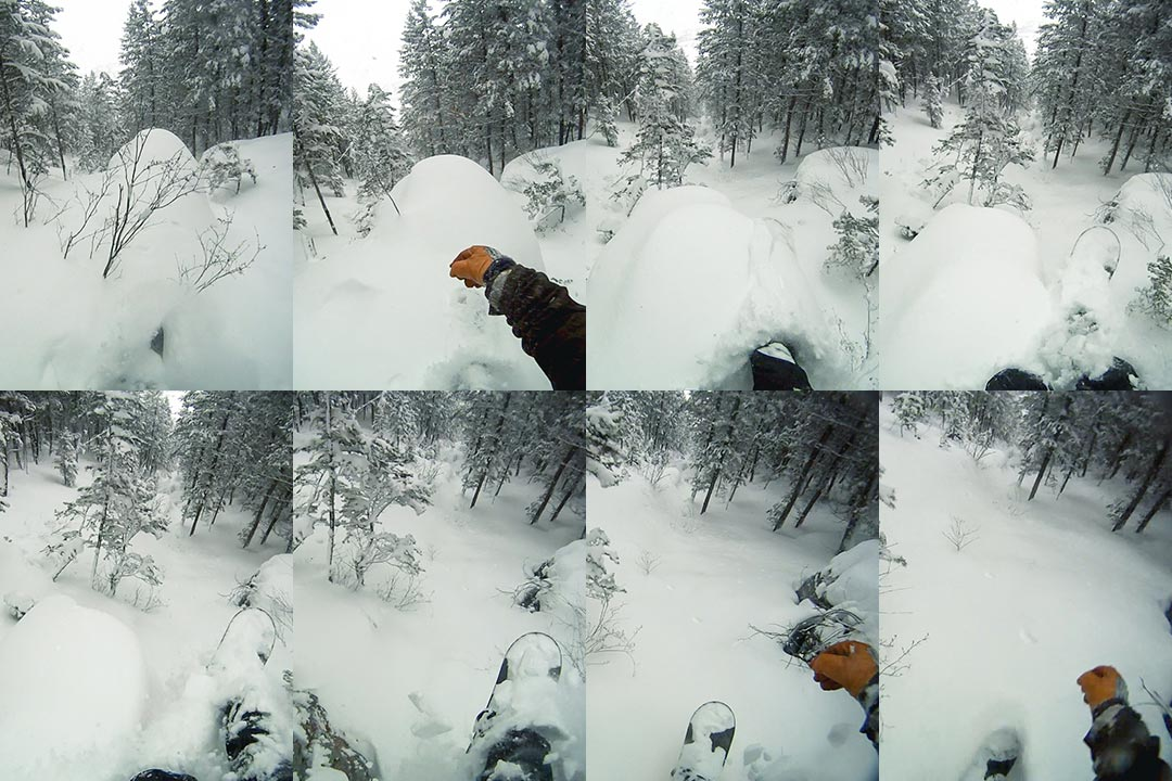 Shane Rothman's wild GoPro footage of one of his Scary King descents.