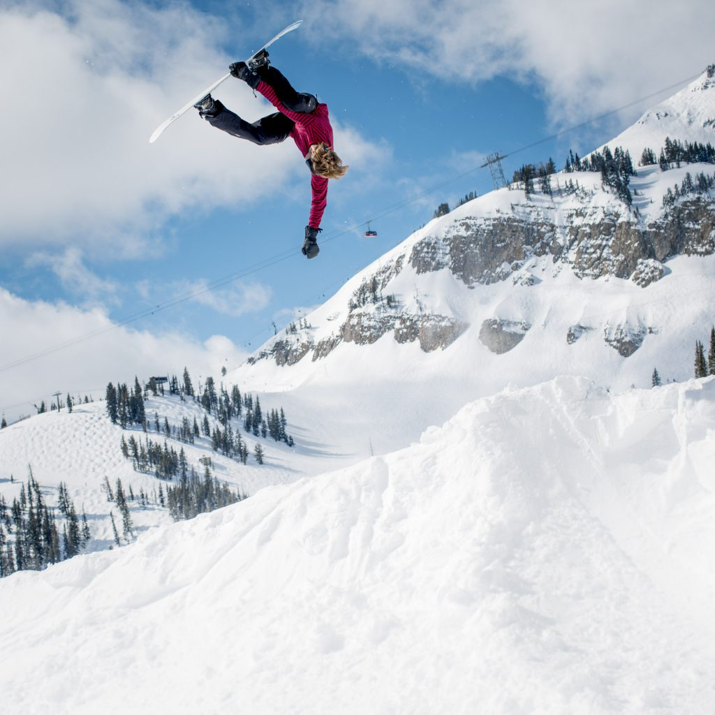 Blake Paul, at Jackson Hole. Aaron Blatt